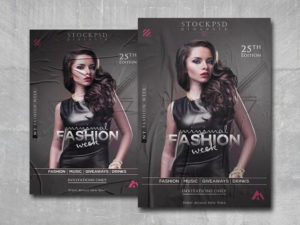 Minimal Fashion Free PSD Flyer Template