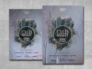 City Club Free PSD Flyer Template