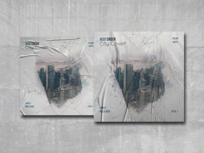 City Cover Free PSD Cover Template