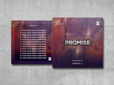 The Promise Free PSD Mixtape Template
