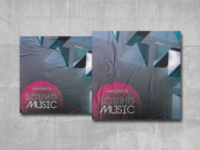 Music Sound Cover Free PSD Template