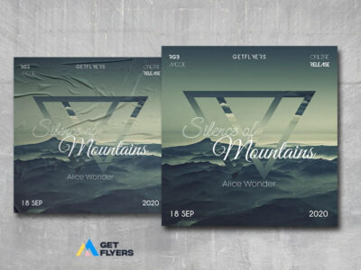 Silence of Mountains Free PSD Template