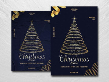 Christmas Time Free PSD Flyer Template